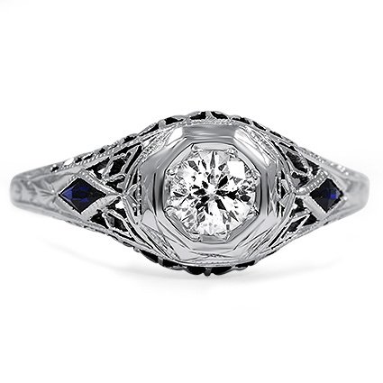 The Uriela Ring, top view