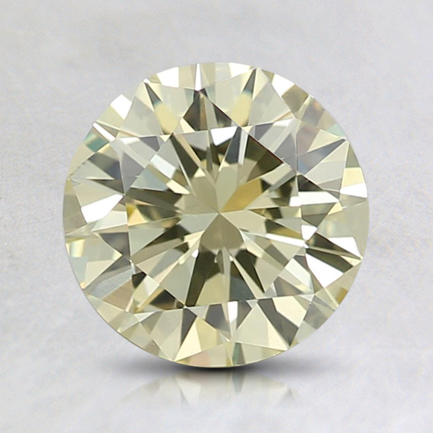 0.99 Ct. Fancy Light Yellow Round Diamond