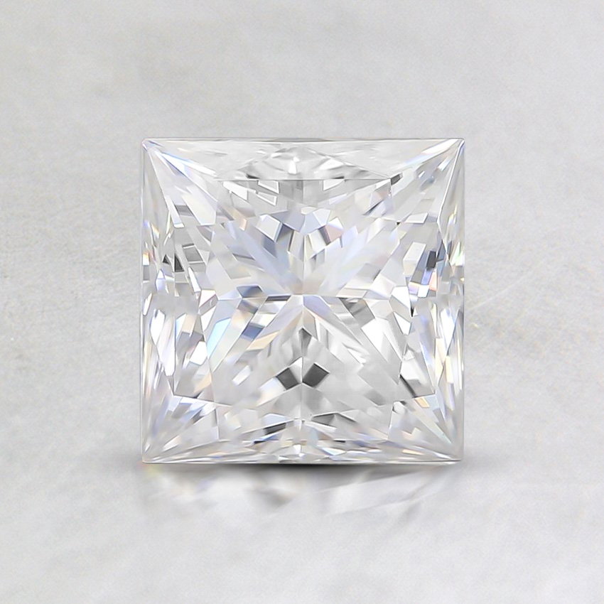 5.5mm Princess Moissanite