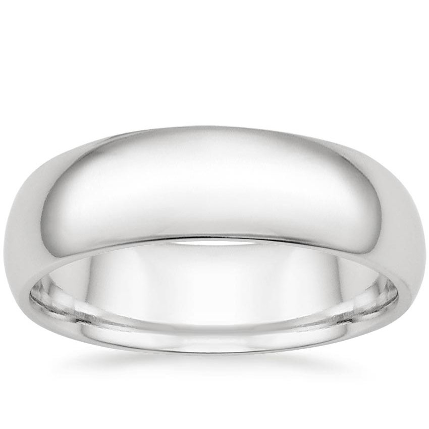 6.5mm Comfort Fit Wedding Ring