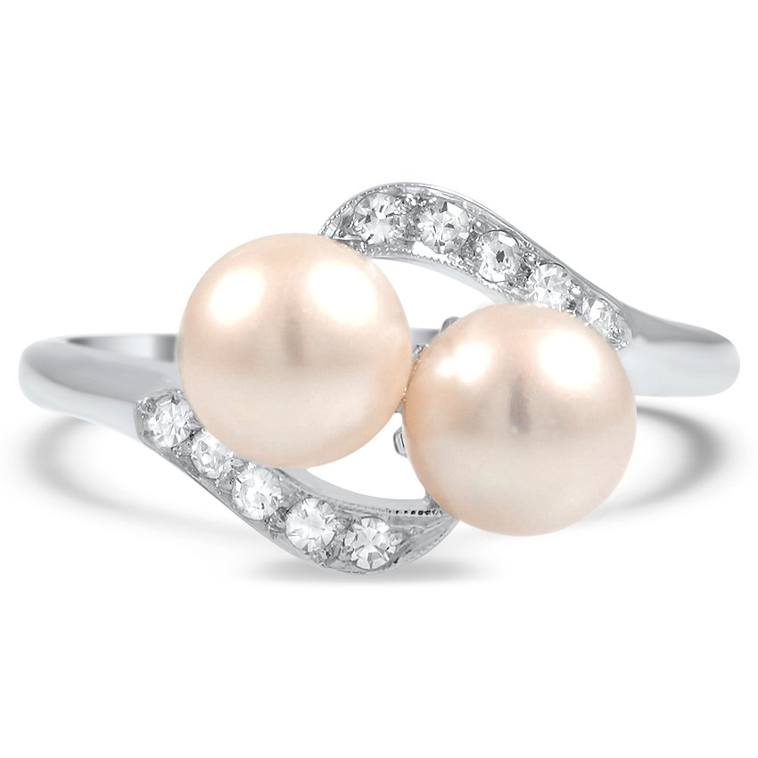 Retro Pearl Cocktail Ring