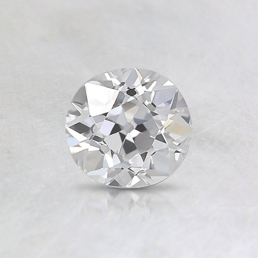 0.57 Ct., E Color, VS1, Old European Cut Diamond