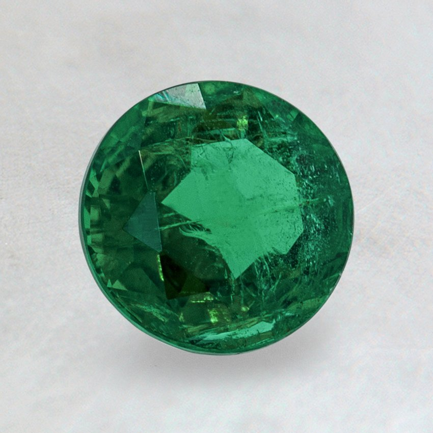 6.5mm Super Premium Round Emerald