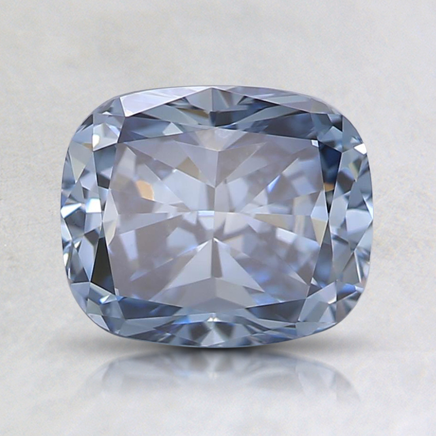 1.3 Ct. Fancy Blue Cushion Lab Created Diamond