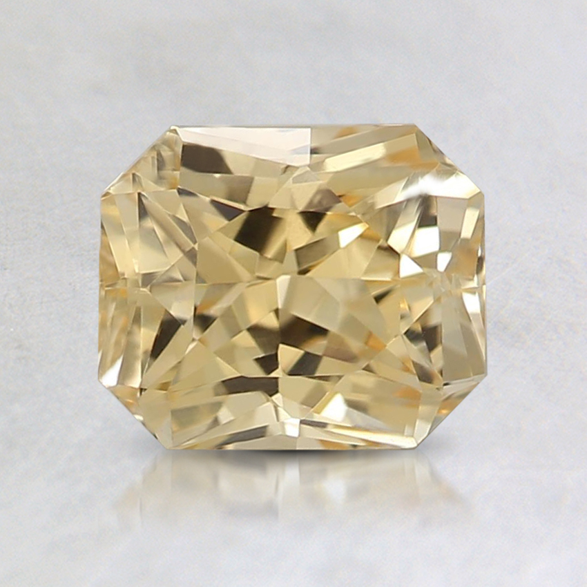 6.7x5.6mm Yellow Radiant Sapphire