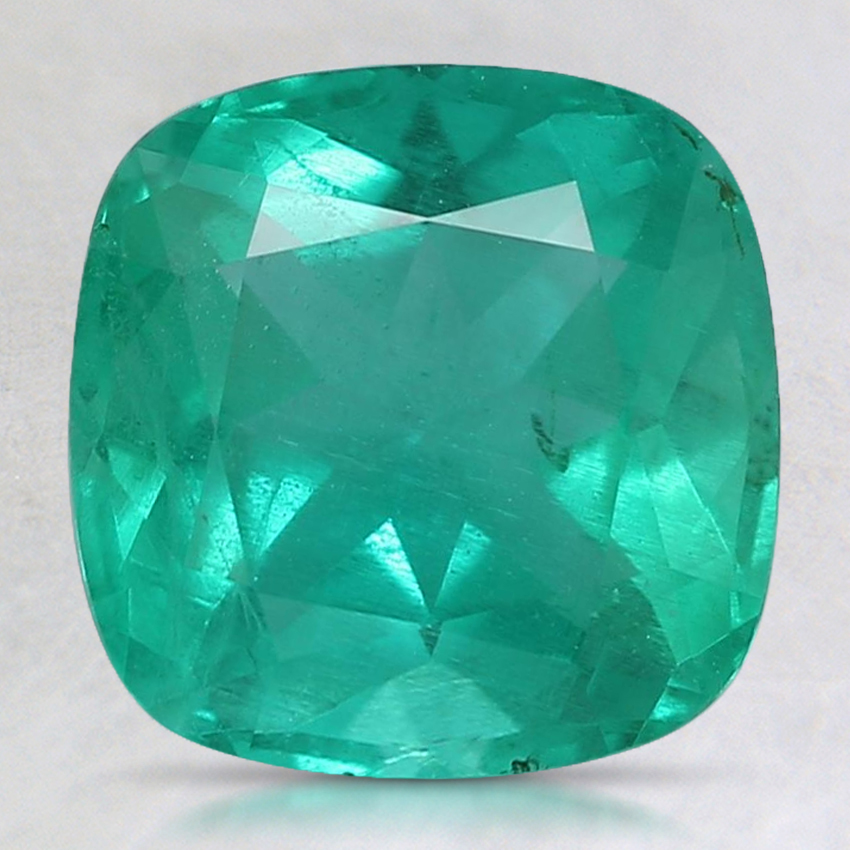 8.5mm Cushion Emerald
