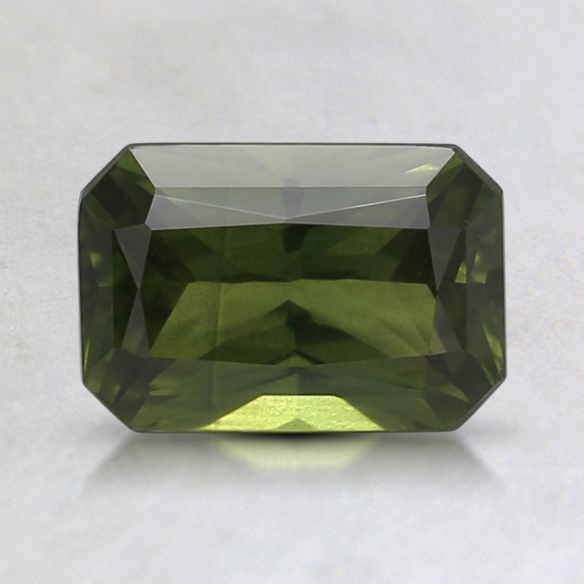 7.5x5.1mm Unheated Green Emerald AustralianSapphire