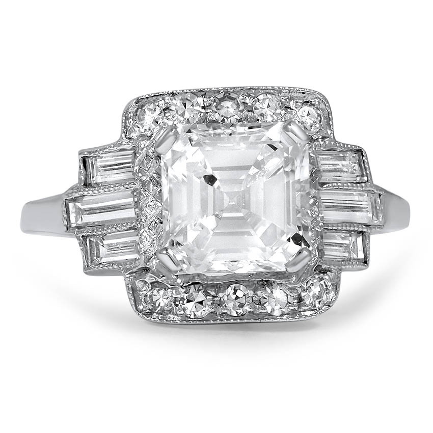 The Annabelle Ring, top view