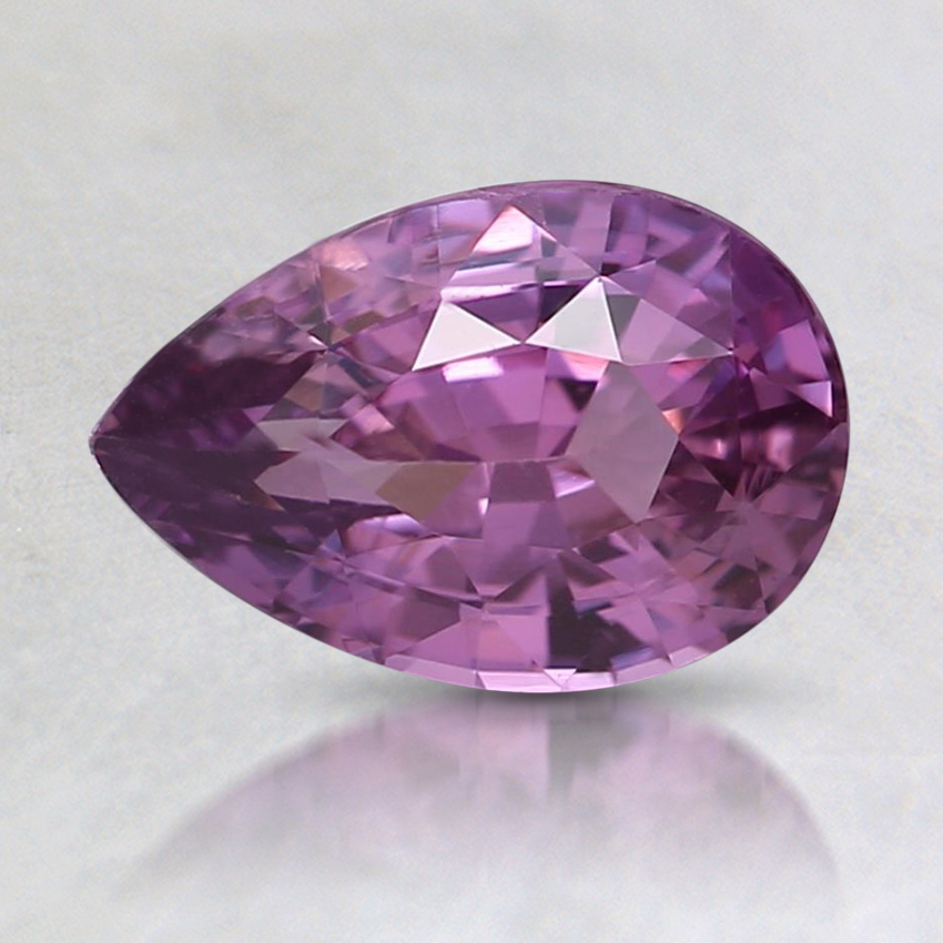 8.2x5.5mm Unheated Pink Pear Sapphire