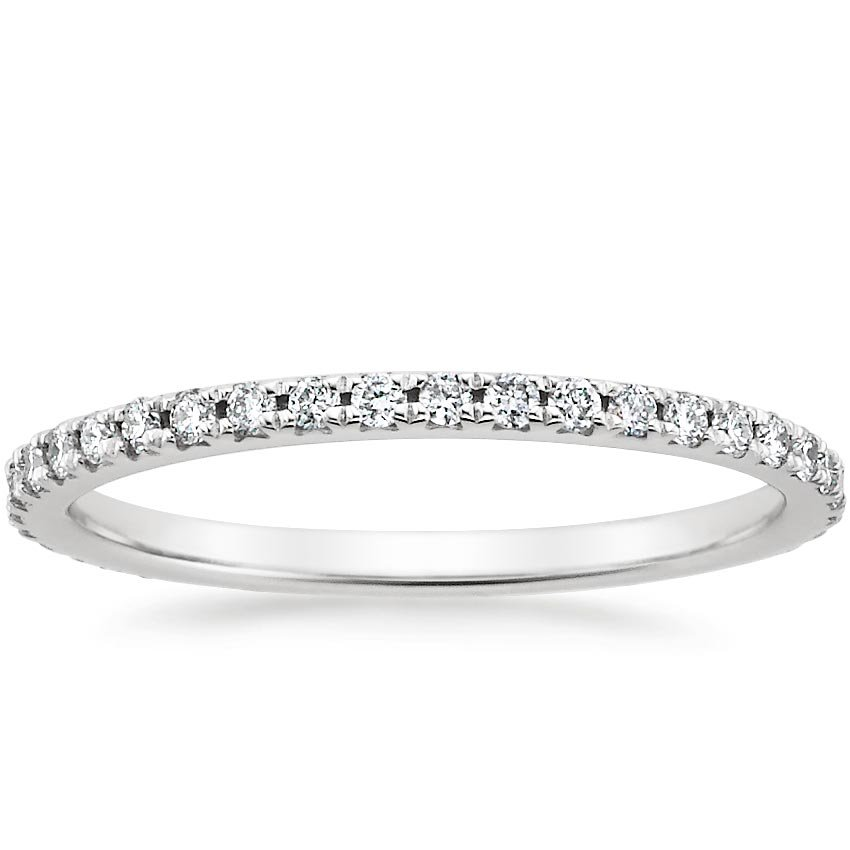 Sonora Eternity Diamond Ring (3/8 ct. tw.) in 18K White Gold