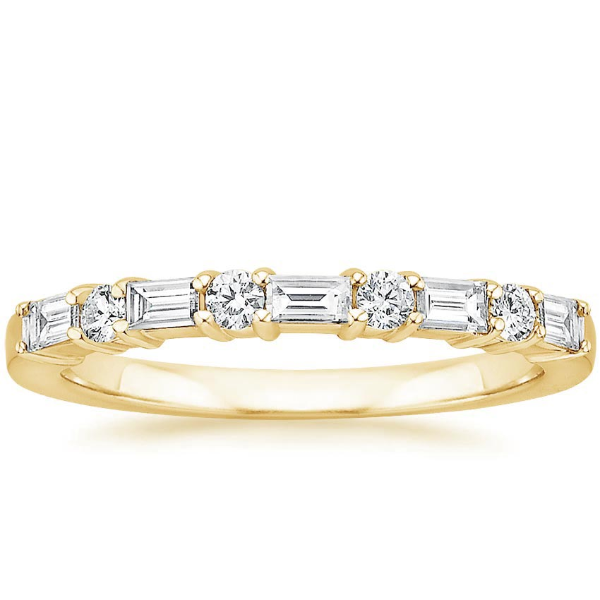 Yellow Gold Leona Diamond Ring (1/3 ct. tw.)
