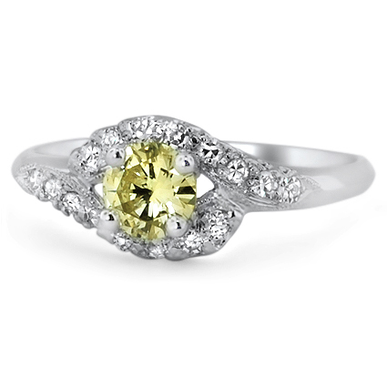 The Madrigal Ring, top view