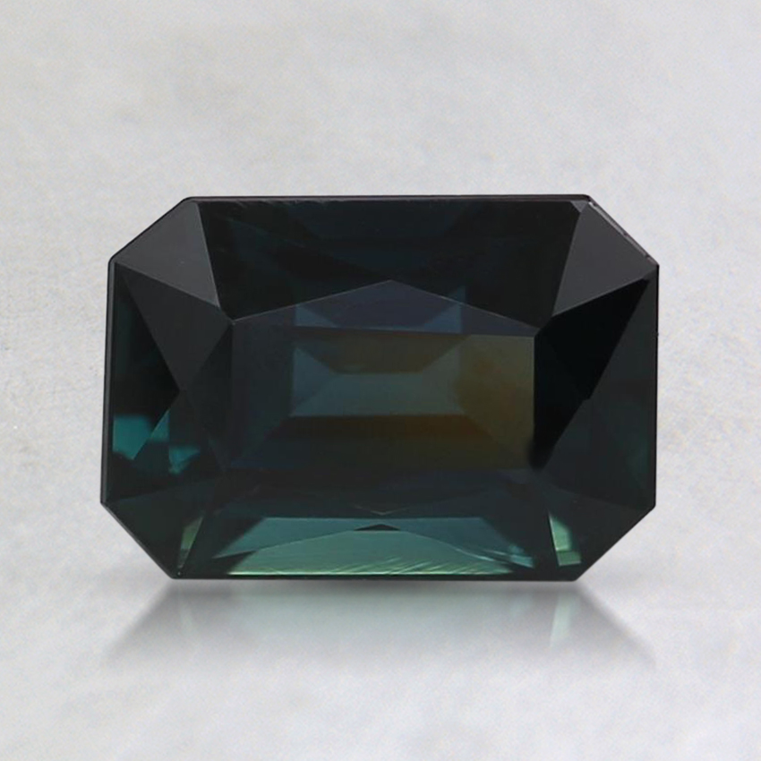 7.5x5.3mm Teal Radiant Sapphire