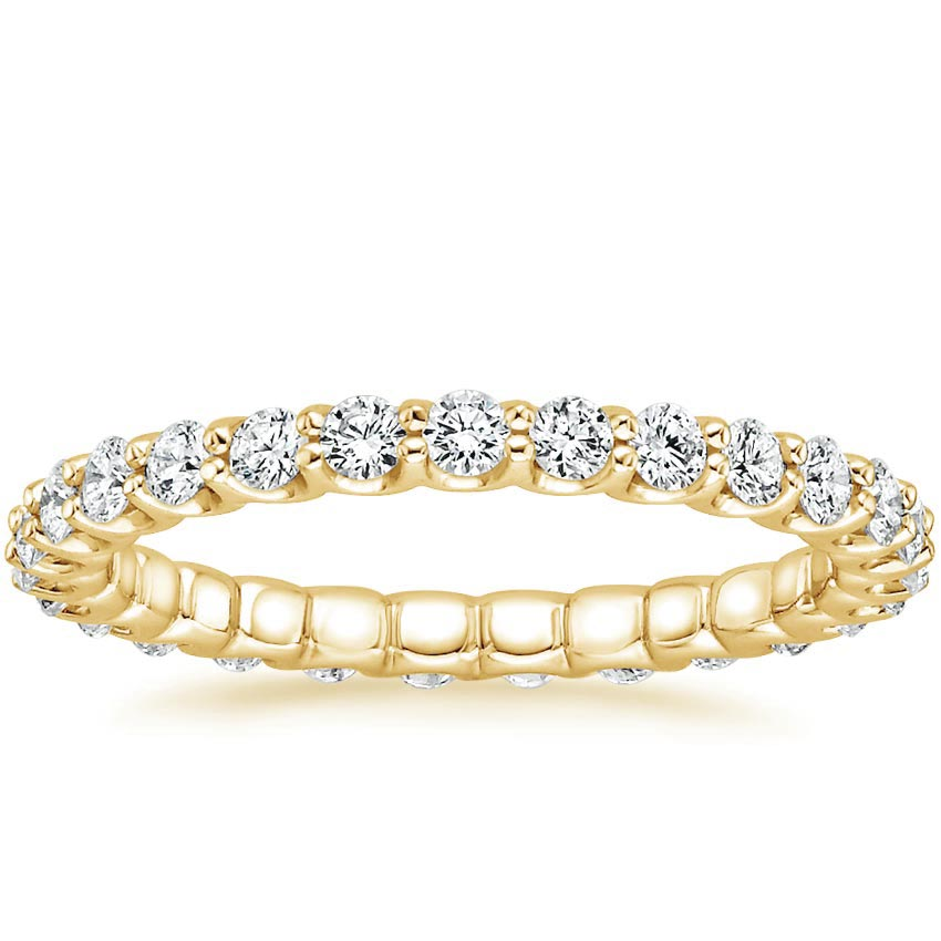 Yellow Gold Cora Eternity Diamond Ring (7/8 ct. tw.)