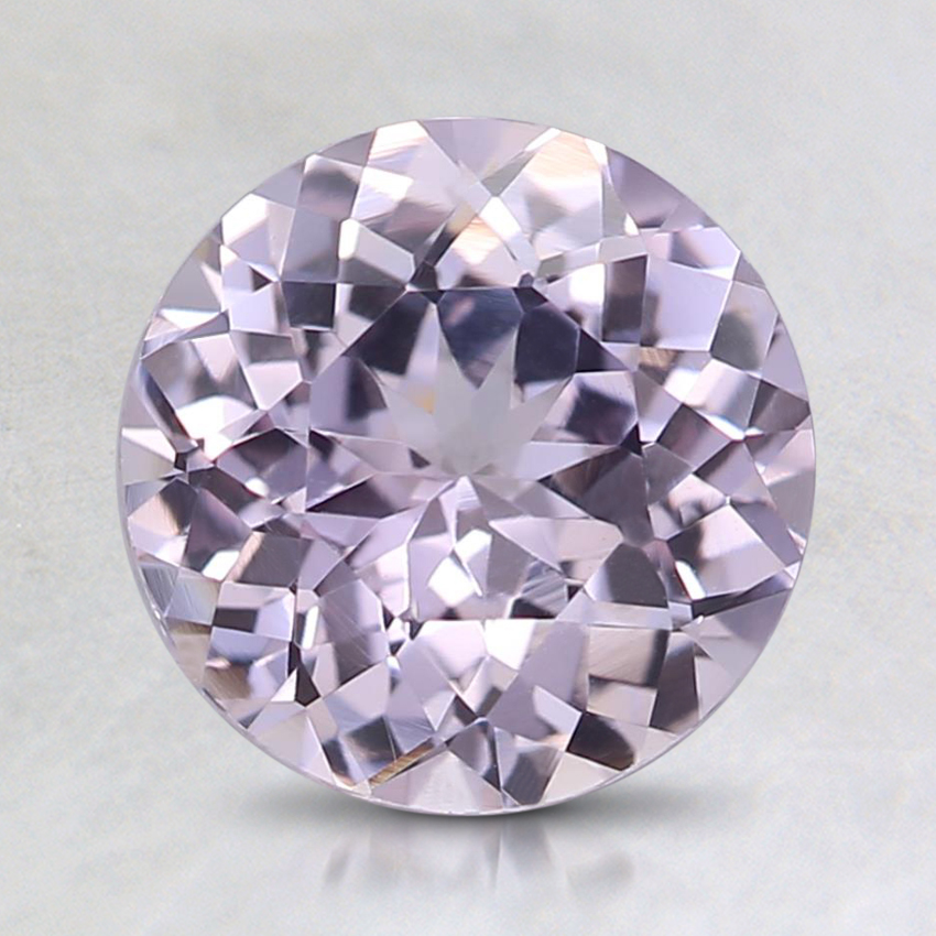 7.6mm Unheated Pink Round Sapphire