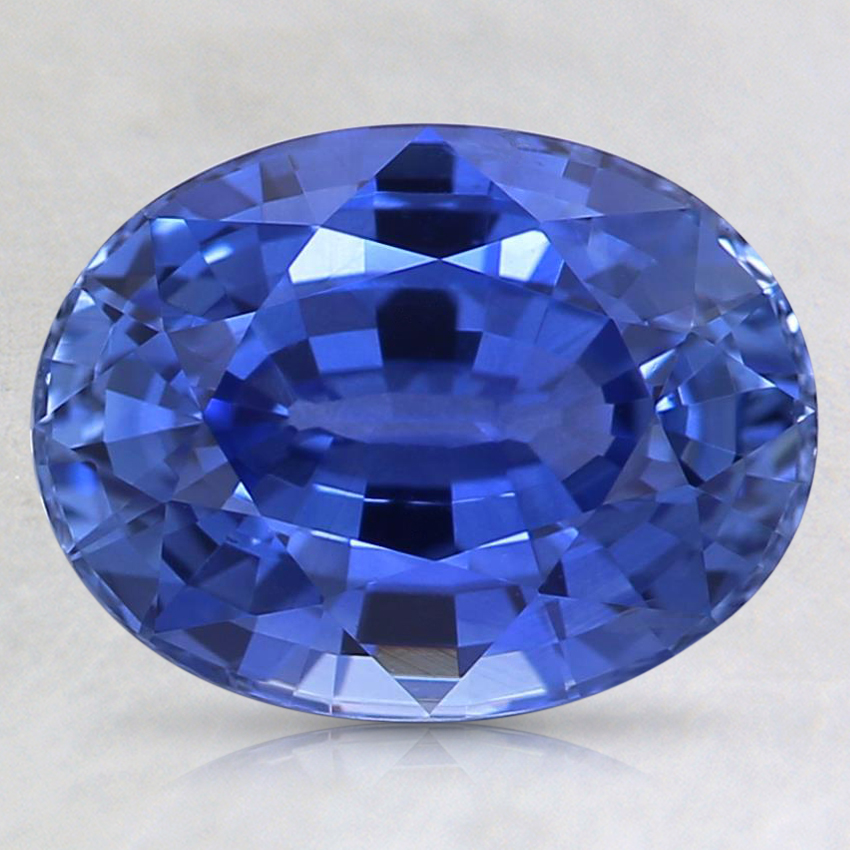 9.4x7.2mm Violet Oval Sapphire