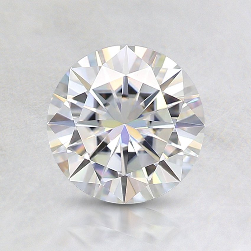 brilliant round cut loose stones moissanite f gemstone jewelry diamonds colorless gem transgems from white item carat gemstones in near mm