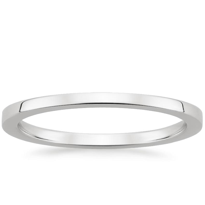 Petite Quattro Wedding Ring in Palladium