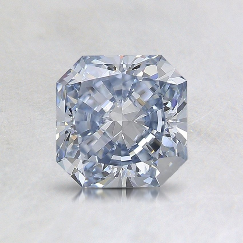 1.13 Ct. Lab Created Fancy Light Blue Radiant Diamond