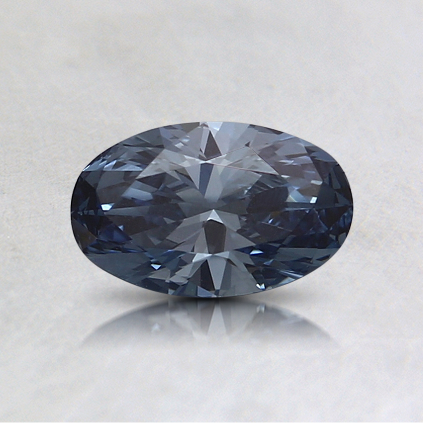 0.45 Ct. Fancy Vivid Blue Oval Lab Created Diamond