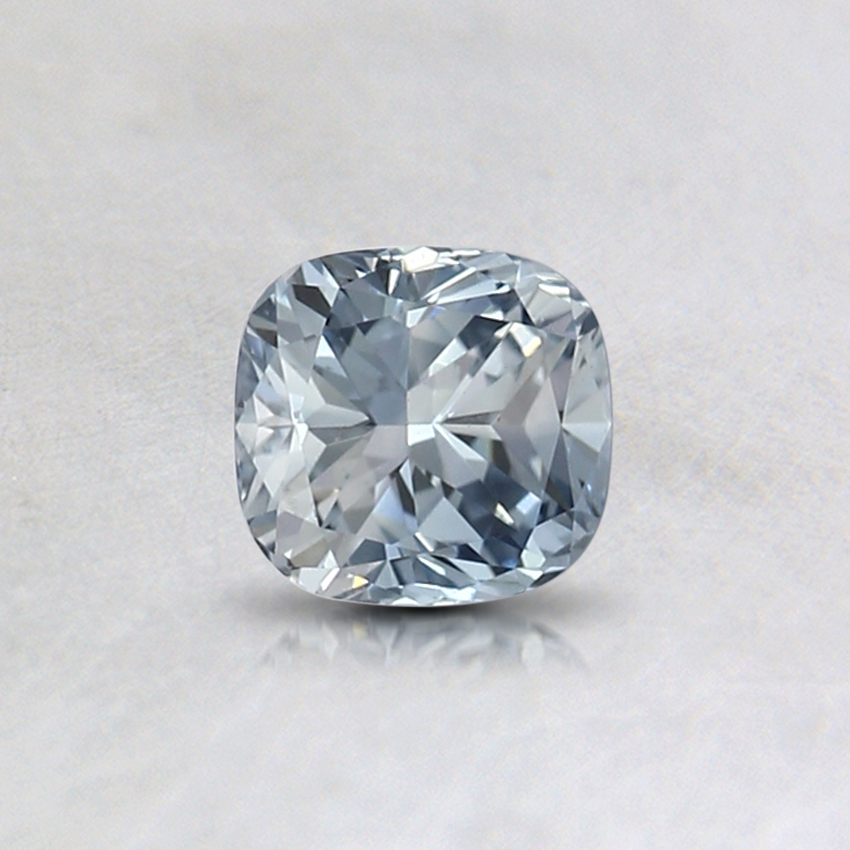 0.42 Ct. Fancy Light Blue Cushion Lab Created Diamond