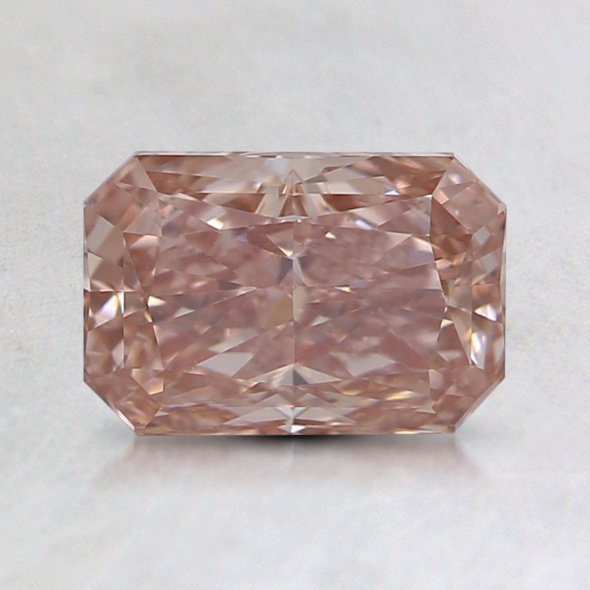 1.09 Ct. Fancy Intense Pink Radiant Lab Created Diamond