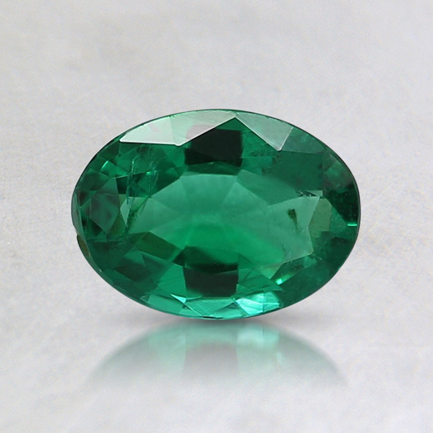 6.7x5mm Oval Emerald