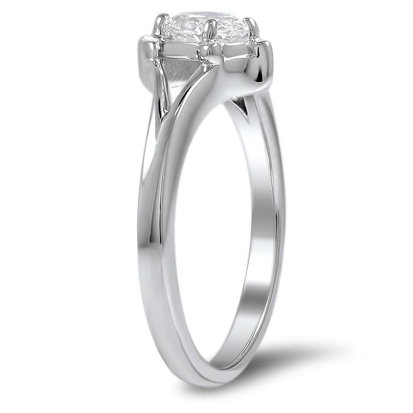 Custom Turtle Inspired Diamond Ring Brilliant Earth