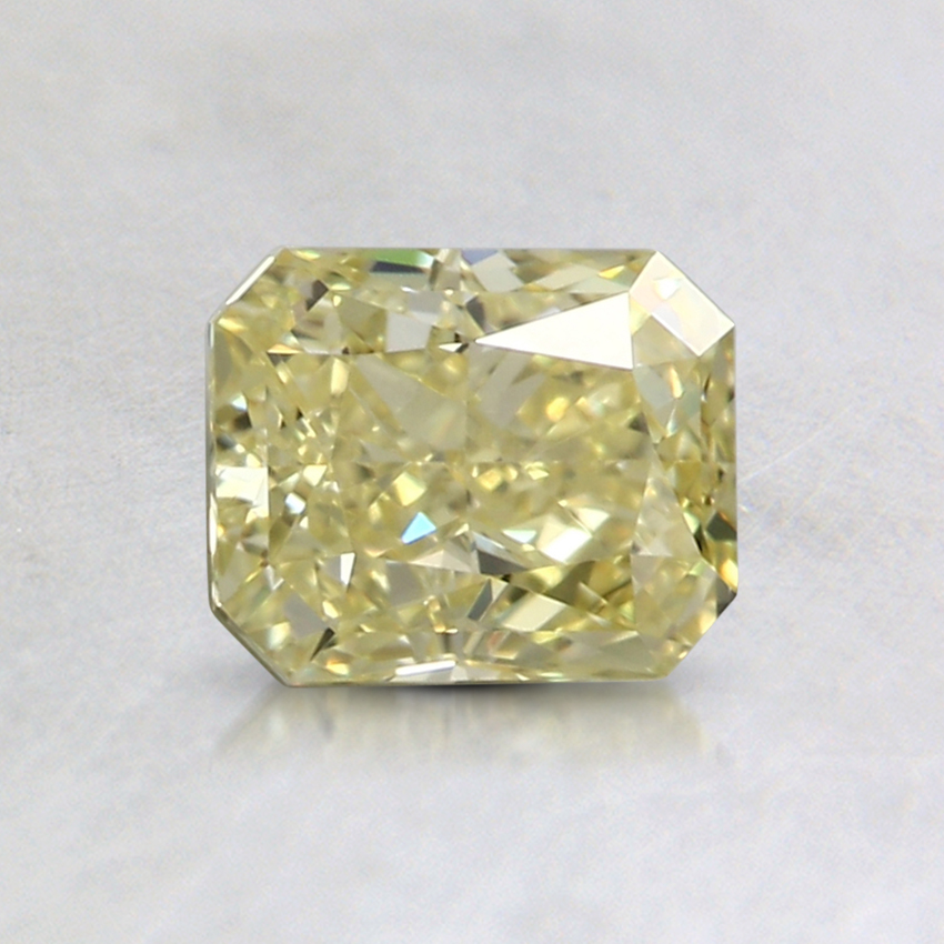 0.90 Ct. Fancy Intense Yellow Radiant Colored Diamond