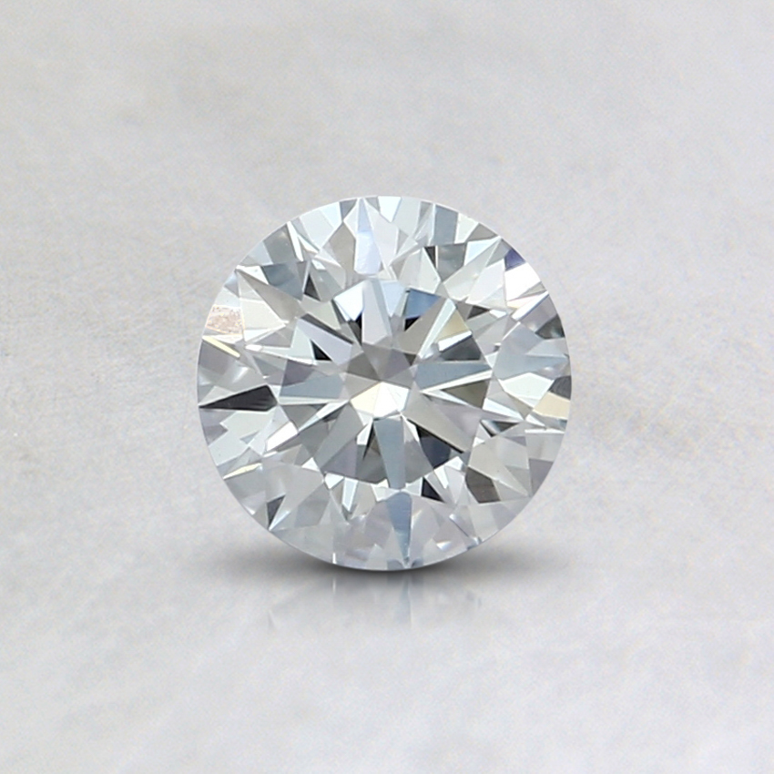 0.45 Ct. Light Blue Round Lab Created Diamond
