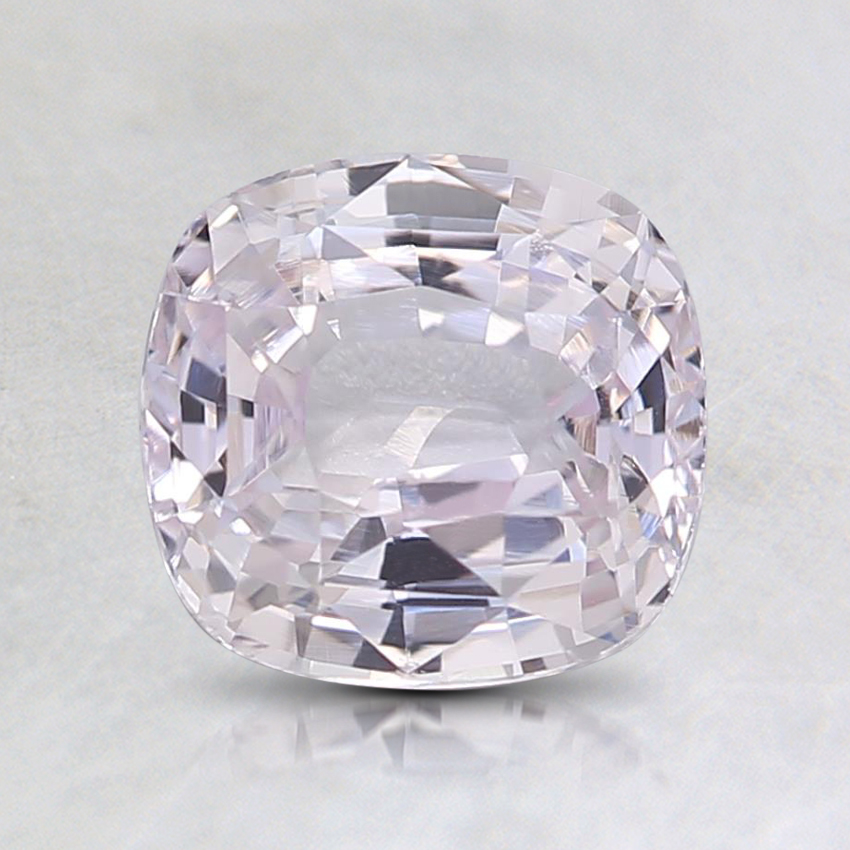 6.7x6.3mm Unheated Pink Cushion Sapphire