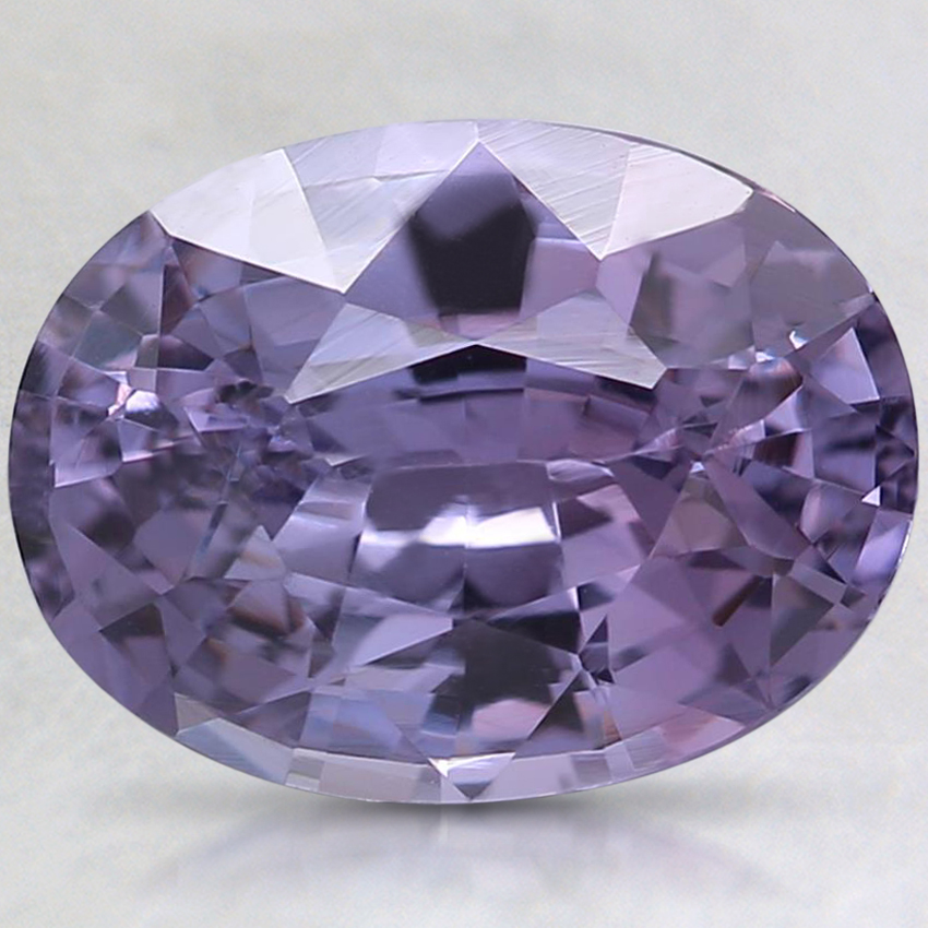 9.7x7.3mm Unheated Purple Oval Sapphire