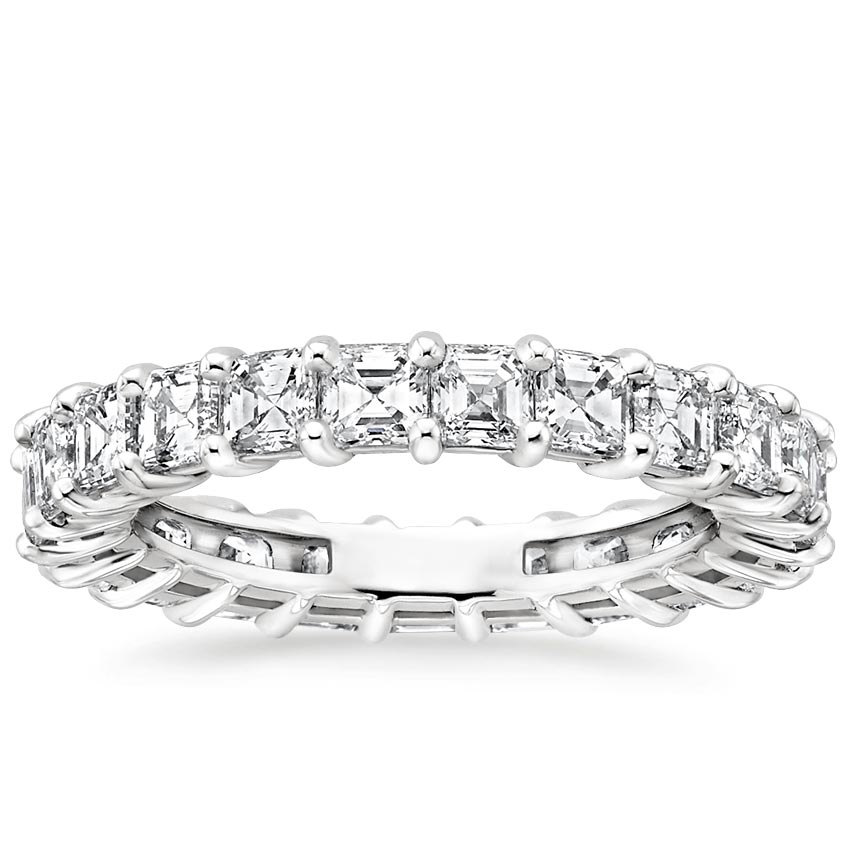 Asscher Eternity Diamond Ring (3 ct. tw.)