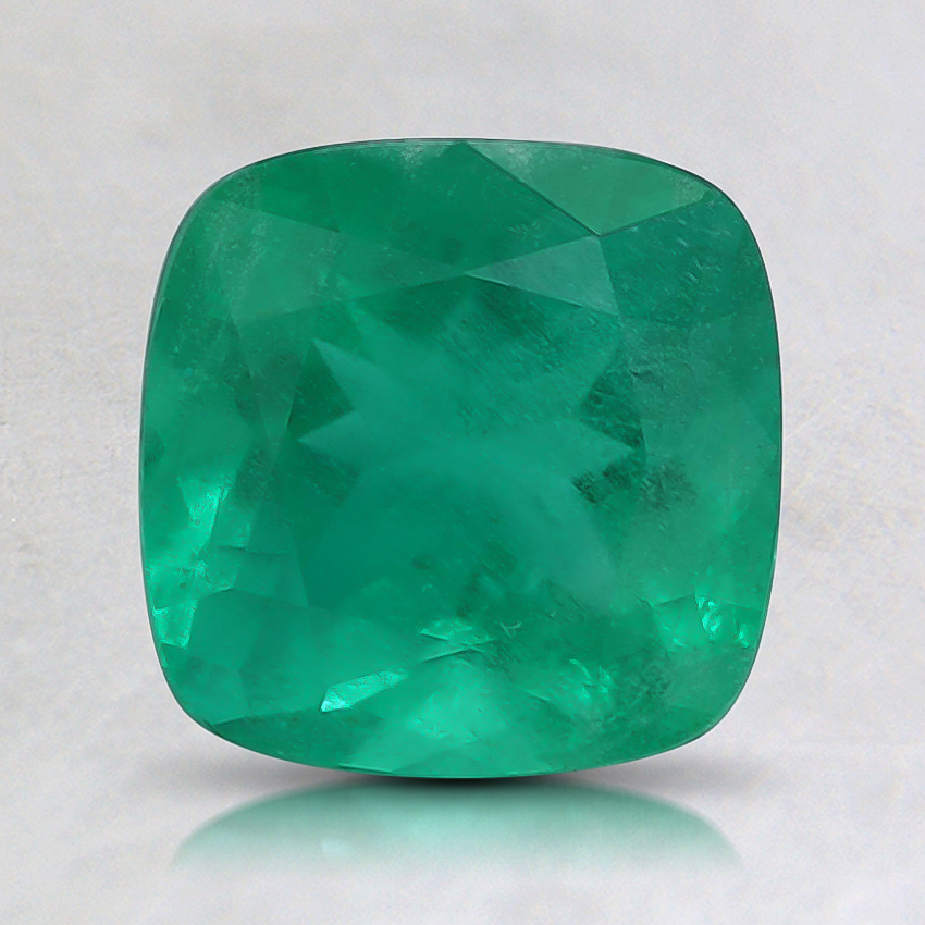 7mm Premium Cushion Emerald