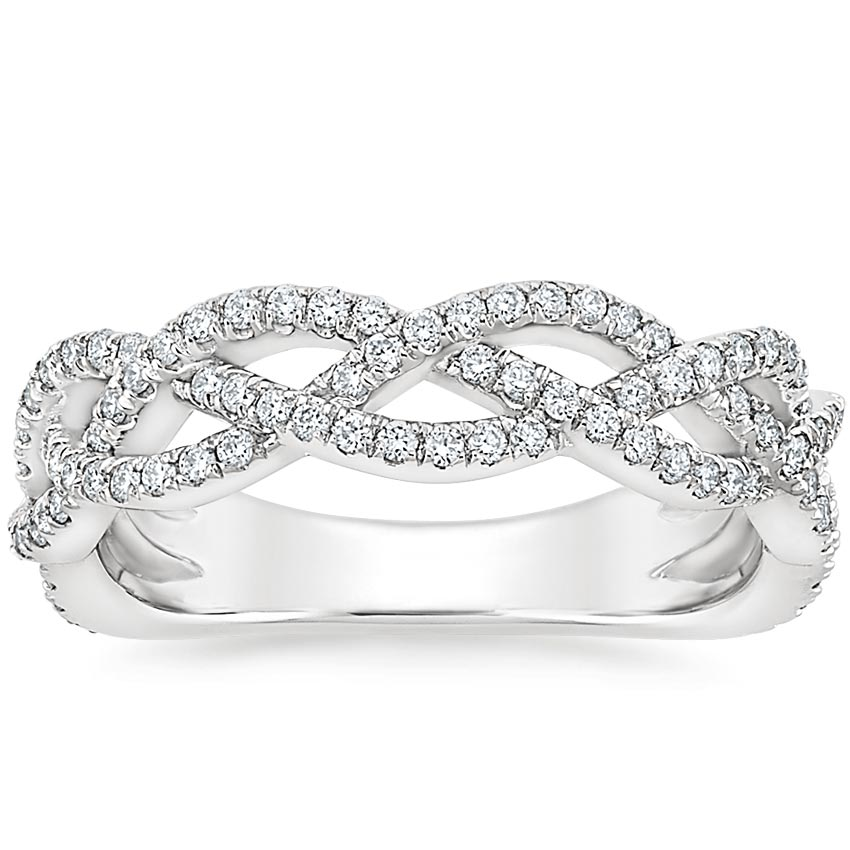 Entwined Vine Wedding Ring