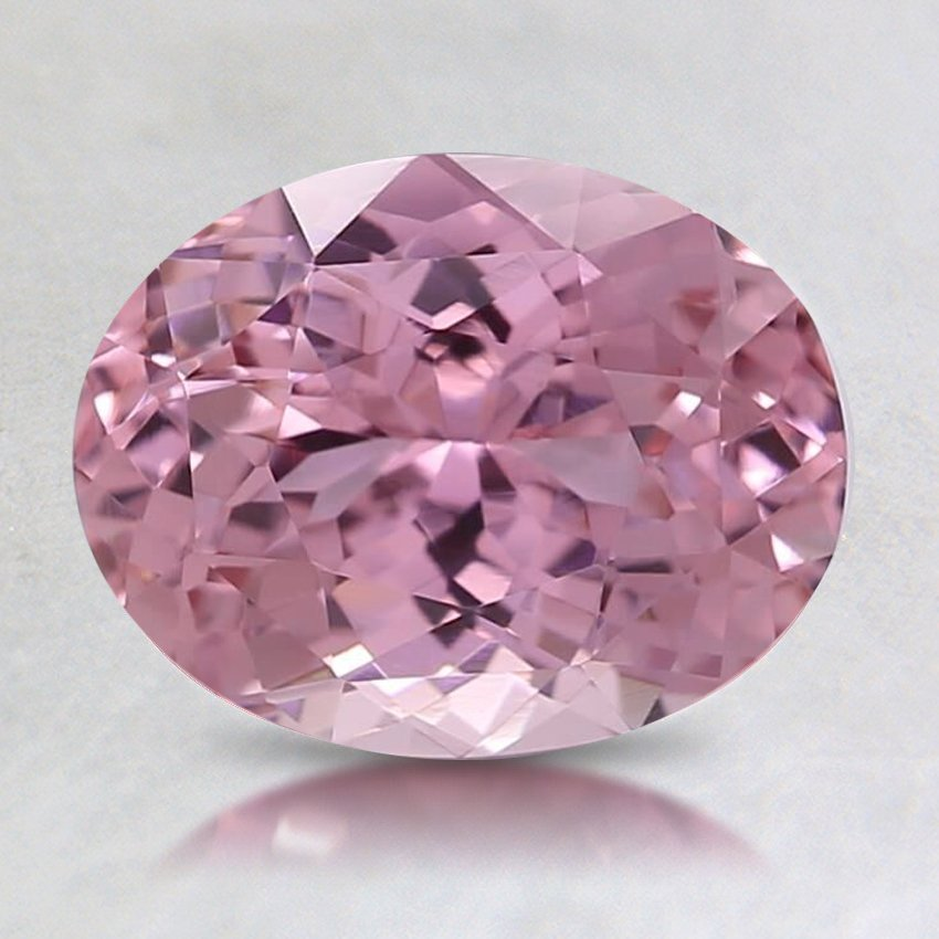 8.3x6.5mm Pink Oval Sapphire