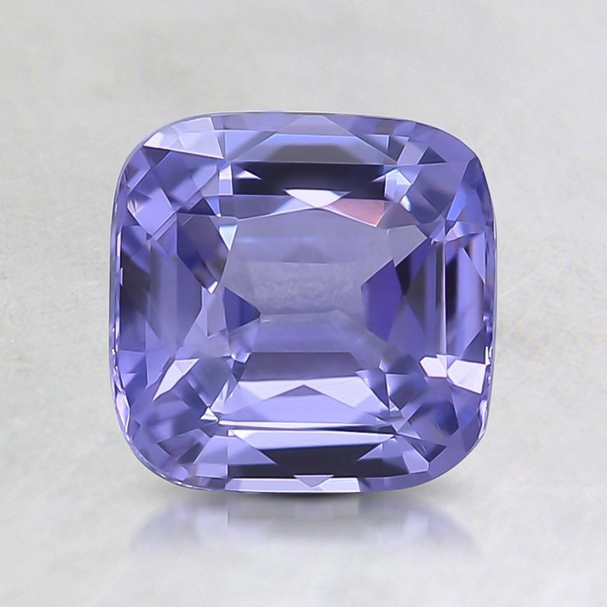 6.6x6.5mm Cushion Purple Sapphire