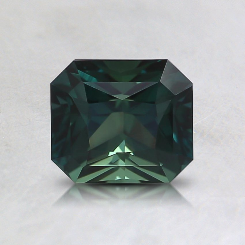 5.8x5.2mm Teal Radiant Sapphire