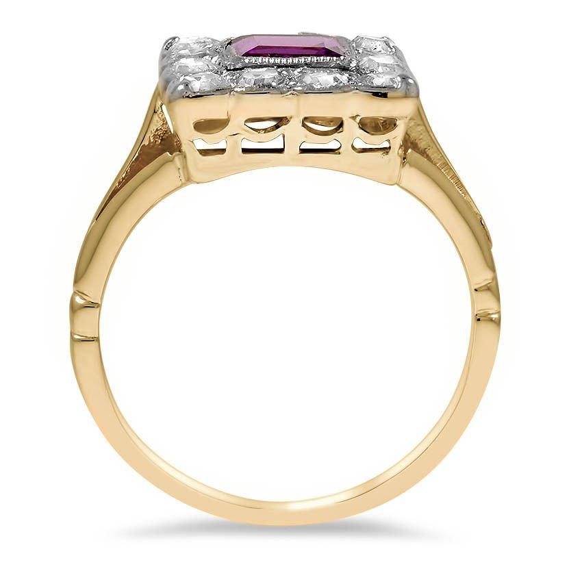 Art Deco Amethyst Vintage Ring | Chandi | Brilliant Earth