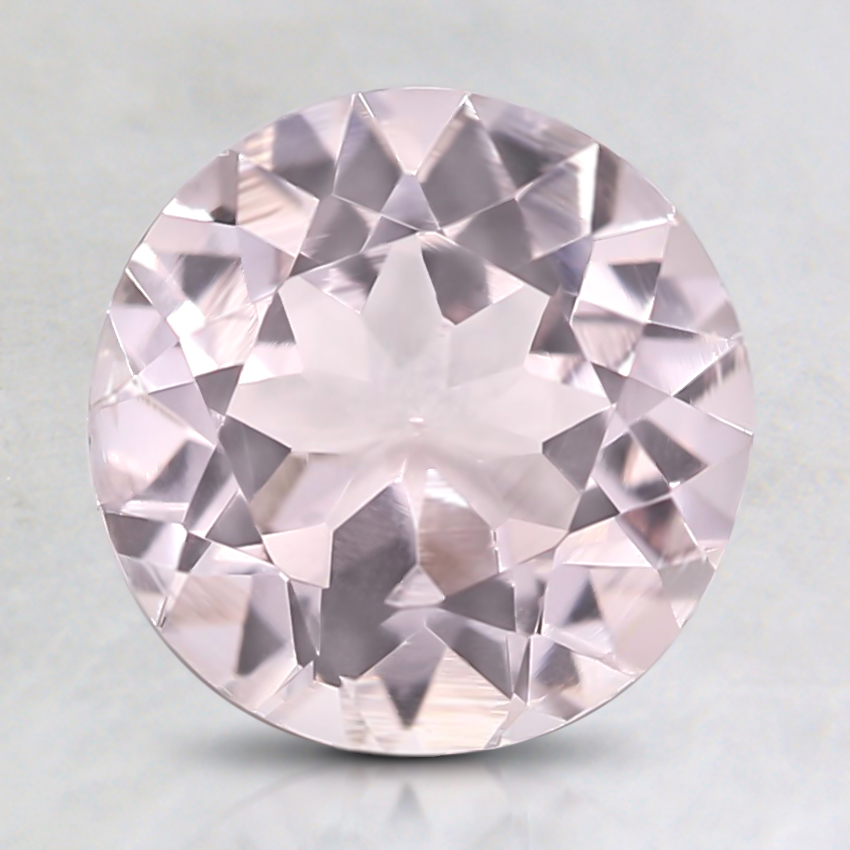 8mm Premium Pink Round Morganite