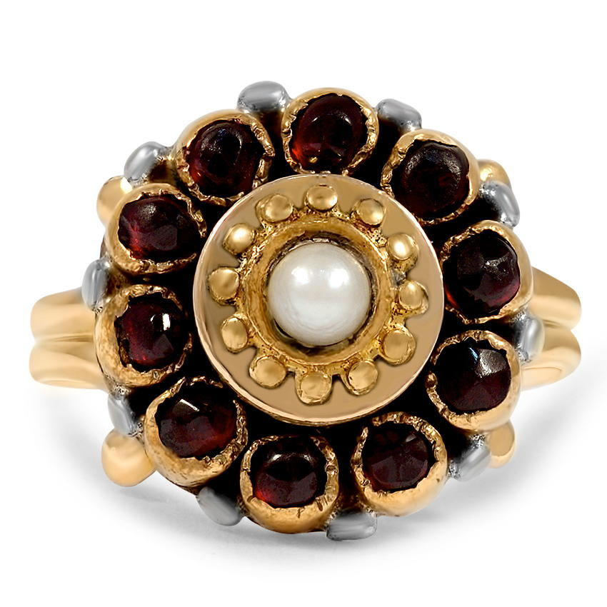 Georgian Pearl Vintage Ring