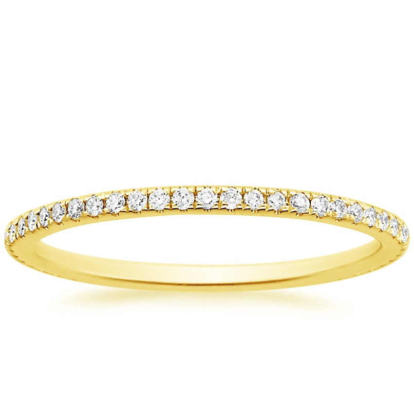 Top Twenty Women's Wedding Rings  - WHISPER ETERNITY DIAMOND RING (1/4 CT. TW.)