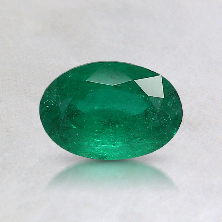 6.6x4.6mm Oval Emerald