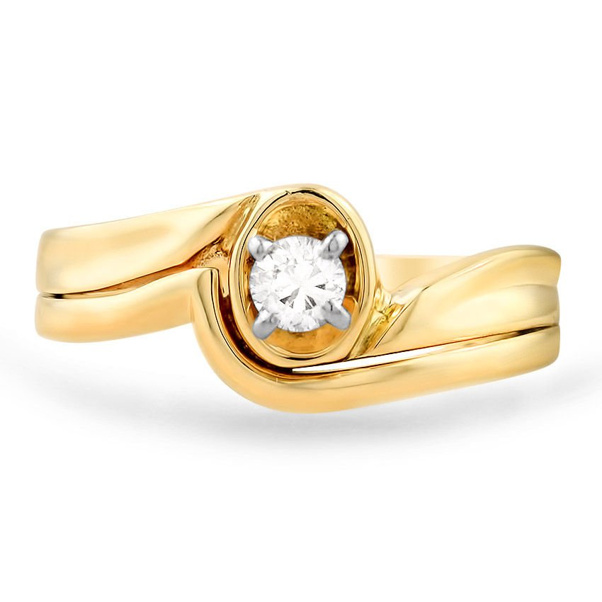 The Hilma Ring, top view