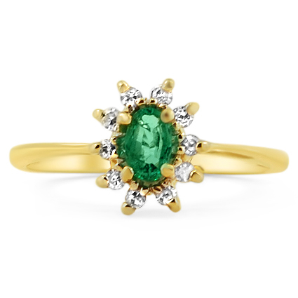 The Camilla Ring, top view