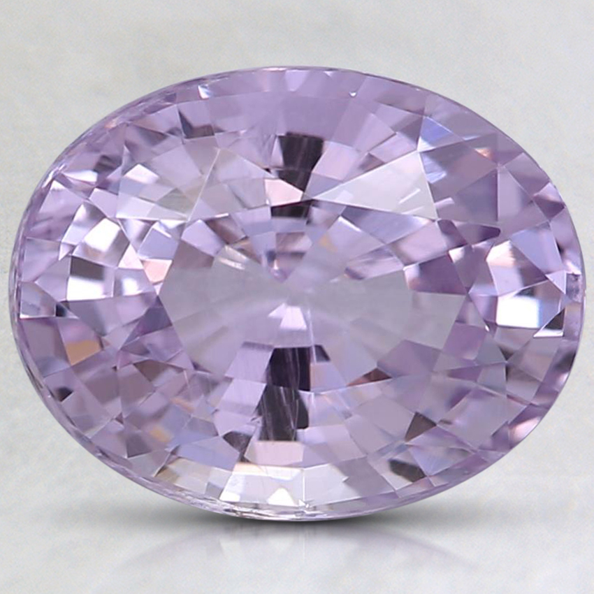 9.8x7.7mm Unheated Pink Oval Sapphire