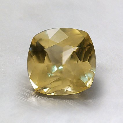 6mm Unheated Yellow Cushion Sapphire