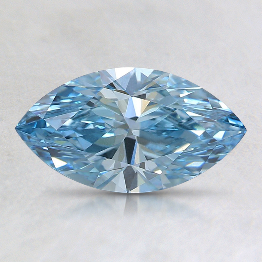 1.40 Ct. Fancy Blue Marquise Lab Created Diamond