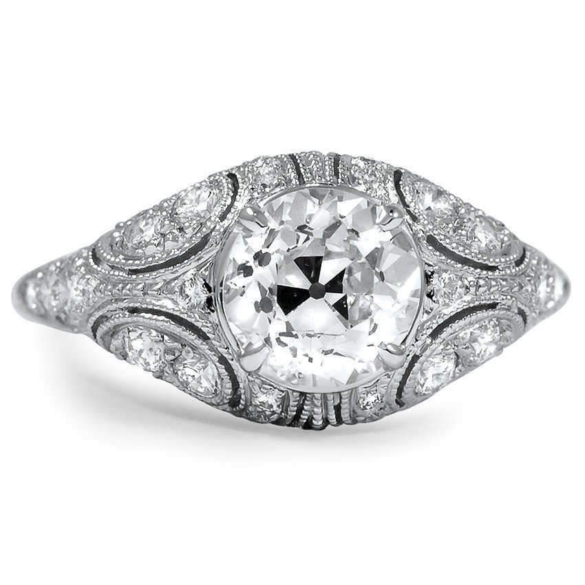 The Bardot Ring, top view