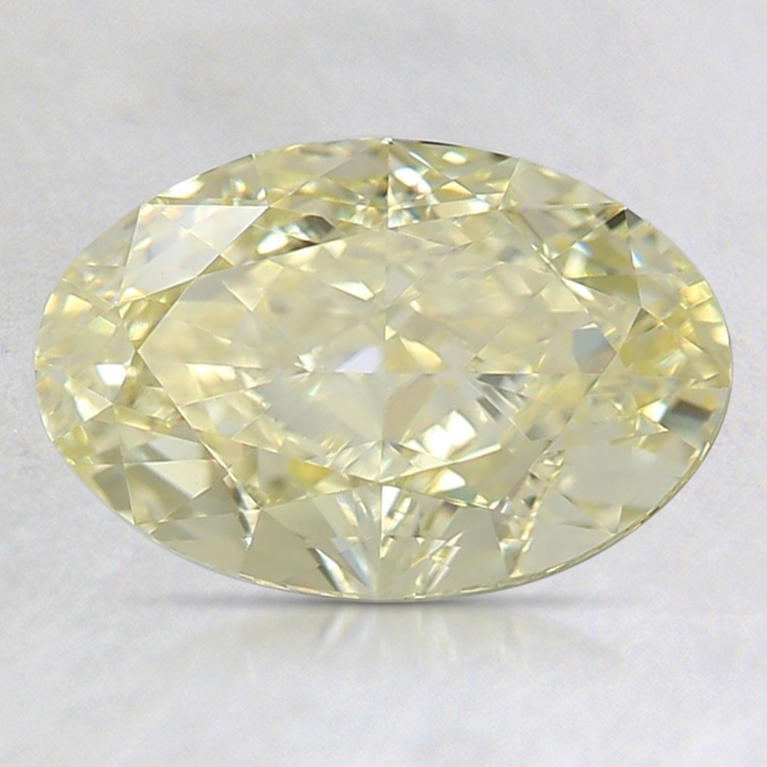 1.82 Ct. Fancy Yellow Oval Diamond